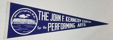 John F. Kennedy Pennant JFK Performing Arts Washington blue/white htf colors