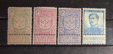 small lot old Belgium stamp mint Og Hr