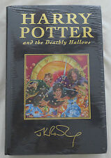 Harry Potter and the Deathly Hallows UK Deluxe Cloth Bound JK Rowling 1st