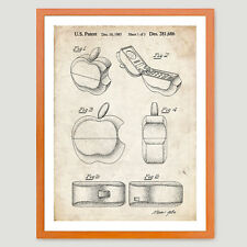 APPLE LOGO PHONE 1985 US PATENT PRINT 18X24 POSTER STEVE JOBS CELL IPHONE GIFT
