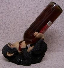 Wine Bottle Holder and/or Decorative Sculpture Chimpanzee New full body