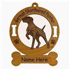 German Shorthaired Pointer #1 Dog Ornament Personalized With Your Dogs Name 3225