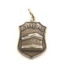 Bettelarmband Anhänger Wappen Athen Parthenon Tempel Griechenland Souvenir (514)