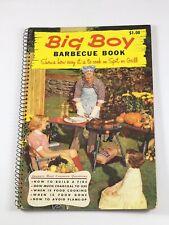 Big Boy Barbecue Book, 1956/1957