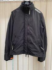 Superdry Ladies Size Large Windcheater Jacket Black