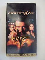James Bond: GoldenEye VHS Video Tape Pierce Brosnan