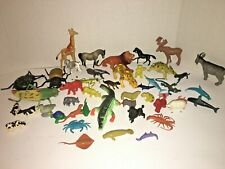 Lot of Small And Large Animal Figures~Plastic