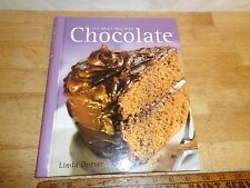 Vintage 2004 The 100 Best Chocolate Recipes by Linda Doeser - Ring Bound - China