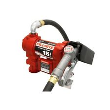 Fill Rite FR1210G 12 Volt DC Pump with Hose and Manual Nozzle