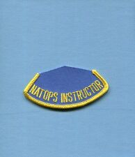 NATOPS INSTRUCTOR US Navy USMC Squadron Flight Safety Training Patch