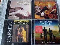 Military Wives Opera Choir Lesley Garrett Carmen Gilbert & Sullivan Cds