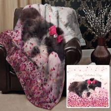 Édredons et couvre-lits roses