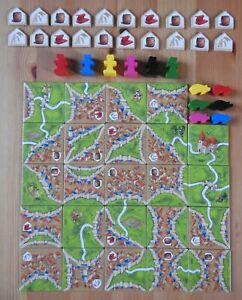 Carcassonne – Traders & Builders (No Box) | New | English Rules