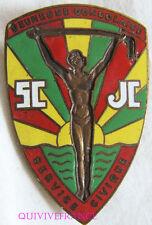 IN7908 - INSIGNE  JEUNESSE CONGOLAISE - SERVICE CIVIQUE