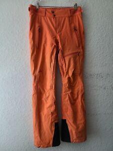 Strafe Womens Large Polartec NeoShell Orange Ski Snowboard Pants
