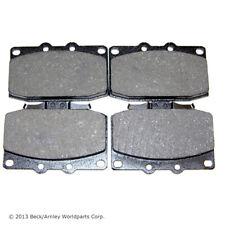 BECK/ARNLEY 082-1300 Premium Organic Disc Brake Pads Front