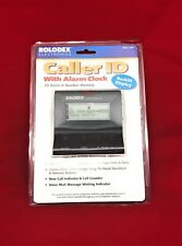 Rolodex Electronics 60 Name & Number Memory Caller Id with Alarm Clock