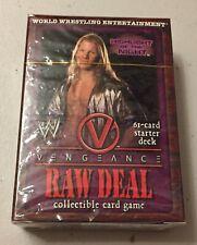 WWE Raw Deal Starter Deck - Vengeance - Chris Jericho - Brand New & Sealed