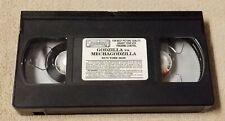 GODZILLA VS. MECHAGODZILLA Vhs Video Tape 1994 Japanese 1974 Kaiju Movie No Case