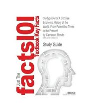 Cram101 Textbook Reviews Studyguide for a Concise Economic History of the World