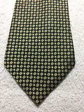 AMERICAN LIVING MENS TIE 3.75 X 61 BLACK AND GOLD, NWOT
