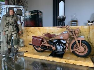 Indian Chief 1:6 War Horse WLA 1936 Classic US Army Motorcycle New Ray