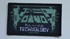 Voivod-Les Technology-Patch - 10,4 cm x 6,3 cm - 164556