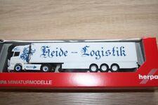 Herpa 307833 - 1/87 SCANIA R TL valigia di raffreddamento autoarticolati Heide logistica-NUOVO