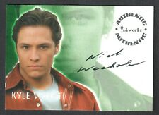 ROSWELL TV SERIES (Inkworks/2000) AUTOGRAPH CARD #A4 NICK WECHSLER ABC REVENGE