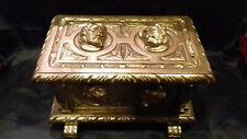 Boîte à musique ancienne bois doré à une mélodie