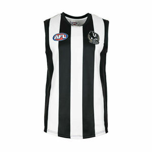 Collingwood Magpies AFL Footy Kids Boys Youths Football Jumper Guernsey Year 8