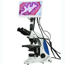 40X-1000X Plan Infinity Kohler Laboratory Research Microscope with HDMI Camera &