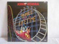 KING KOBRA -THRILL OF A LIFETIME- 1986 MEXICAN LP STILL SEALED HARD ROCK