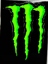 "Monster Energy, Original Aufkleber, Sticker, ""Kralle"" Motocross, Bmx"