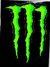 """MONSTER Energy, originale Adesivi, Sticker, """"Artiglio"""" Motocross, BMX"""