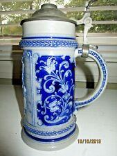 """New listing Antique 1 Liter A.J. Thewalt """"Lindenwirtin� Beer Stein"""