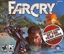 Far Cry (PC; Jewel Case w 5 discs & manual; 2004 Crytek Ubisoft)