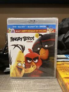 Angry Birds Le Film BLURAY + 3D + DVD neuf