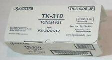 [0729*] KYOCERA TK-310 BLACK TONER ( RRP>$180 )
