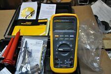 Fluke 27ii Multimeter With Hv Probe 80k 6 Amp 80k 40 85rf Ii Ac Probe 87iv Equiv