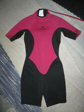 TRIBORD Female Diving Suit Size M Pink Surfing Snorkel Diving