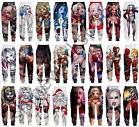 Harley Quinn 3D Print Casual trousers Men Women Sweatpants Sport Jogging Pants