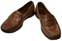 Cole Haan Brown Leather Slip-on Mens Size 8 M Penny Loafers Shoes Casual Dress