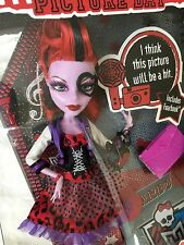 Monster High PICTURE DAY Web Variant Mask OPERETTA DOLL Rare NEW IN BOX 2012 MIB