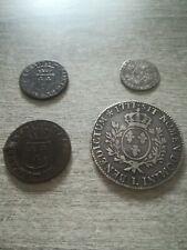 👑Lot de 4 monnaies Louis XVI écu en Argent👑
