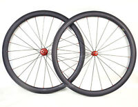 Sapim cx-ray 45mm Carbon Wheelset Clincher Tubeless Powerway R36 700C Road Bike