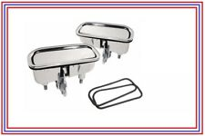 Corvette Outside Door Handles with Gaskets pair Premium Quality New 1969-1982