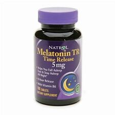 Natrol Melatonin TR, Time Release, 5mg, Tablets 100 ea