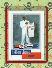 2003 OMR FUTURE STAR CARD OF LEBRON JAMES/ CAVALIERS #NNO