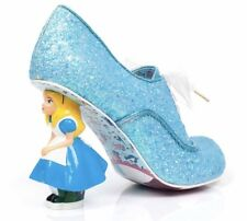 Irregular Choice Tea con Alice Glitter Scarpe Stivali Taglia UK 5